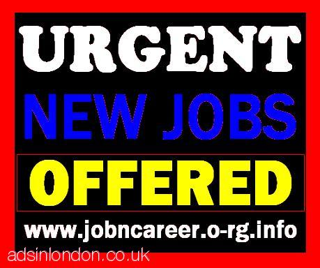 Urgent NEW JOBS Offered (Cash In Hand)