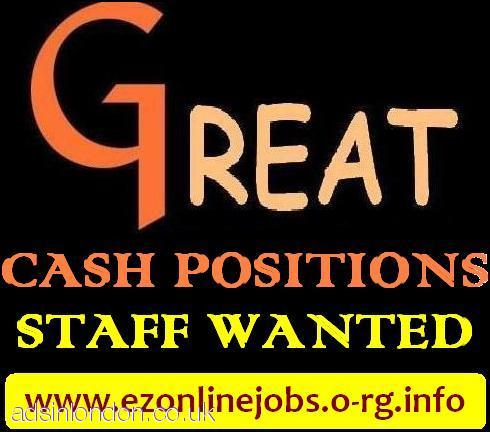 Staff Required Urgently To Start This WEEK