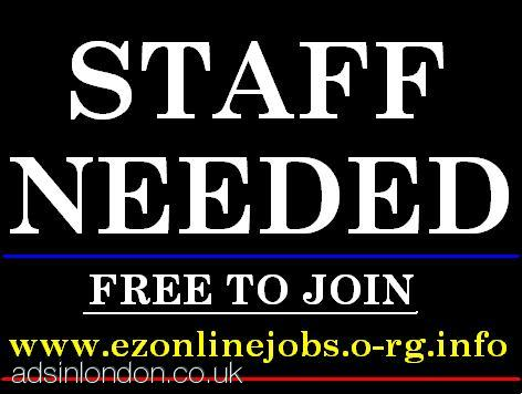 Part Time Staff NEEDED + CASH In Hand.