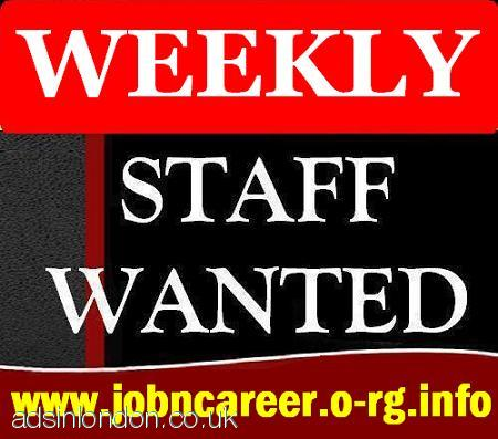 Staff Needed Immediately For Urgent Jobs