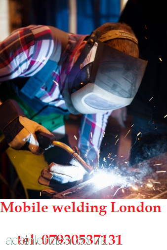 Mobile welder, mobile welding  for your  home.  East London