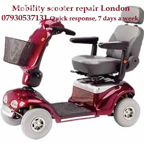Mobility scooter repair welding East London, North London, Central London