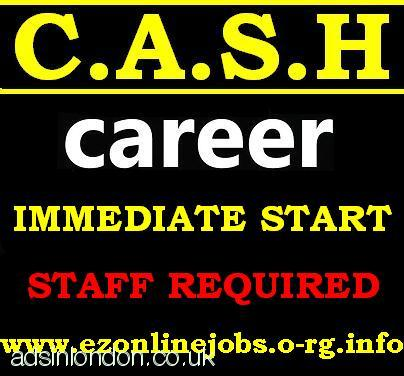 Great CASH Jobs, Part-time Staff Required