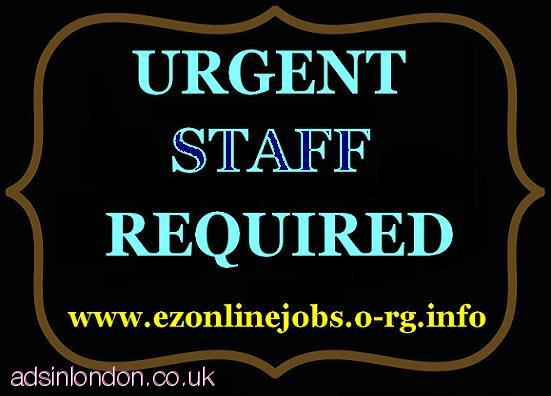 STAFF Wanted Immediately, Cash In Hand Job.