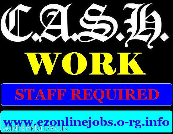 Staff REQUIRED Urgently / CASH In Hand Job.