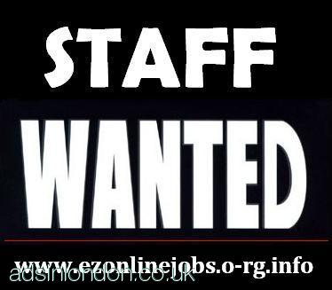 STAFF REQUIRED, PART TIME / FULL TIME