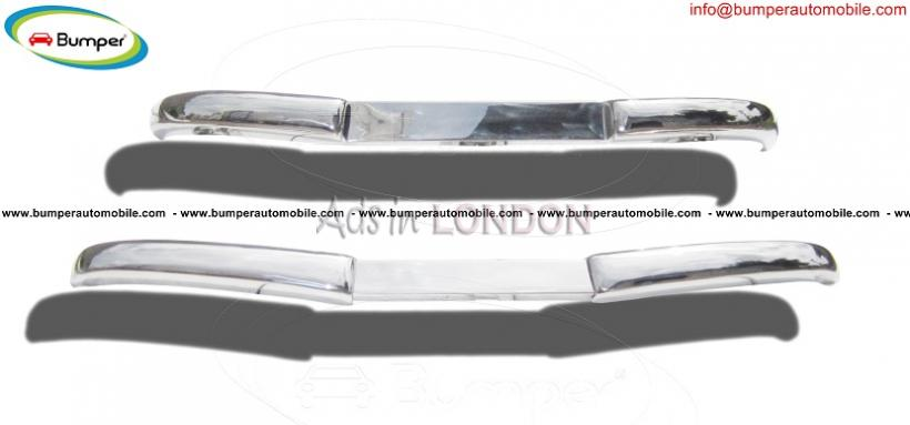 Mercedes  w  vb bumper (1952 – 1953) stainless steel #1