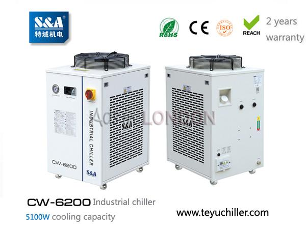 S&A water chiller system CW-6200 with 5.1KW cooling capacity #1