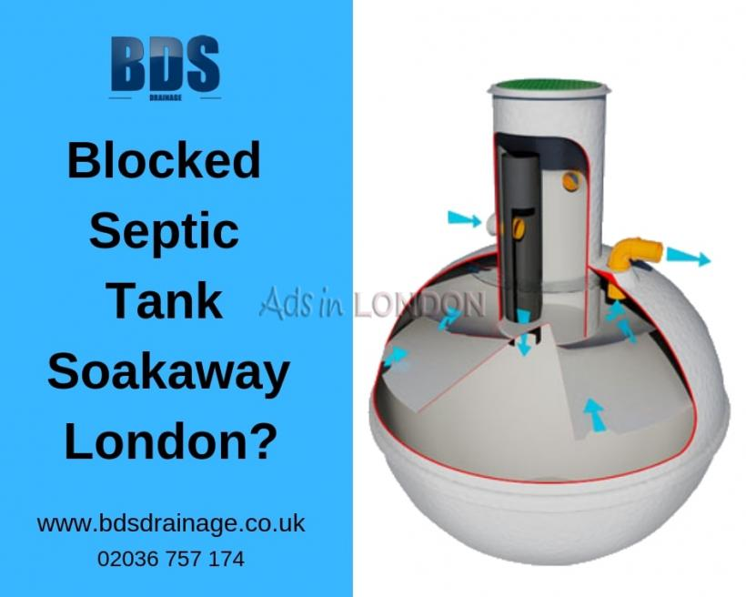Blocked Septic Tank Soakaway London? Call Us