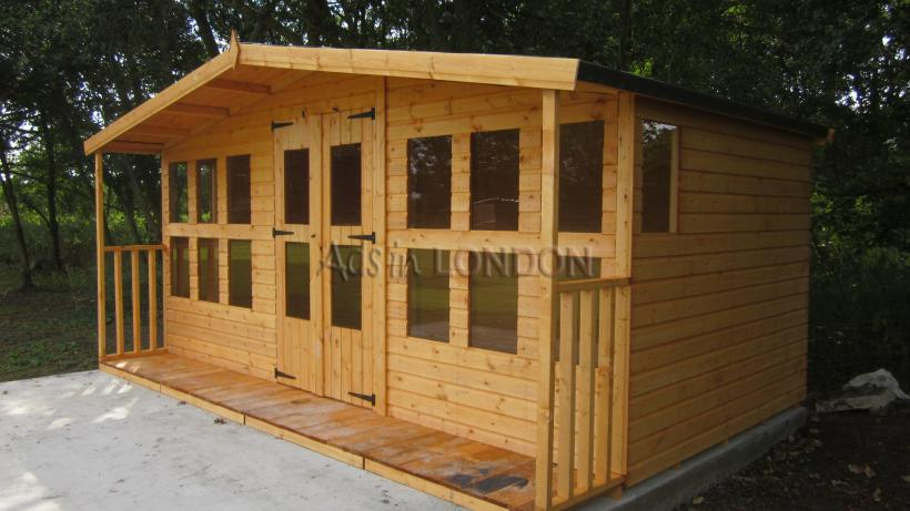 16 x 8 + 2ft 19mm summerhouse #1