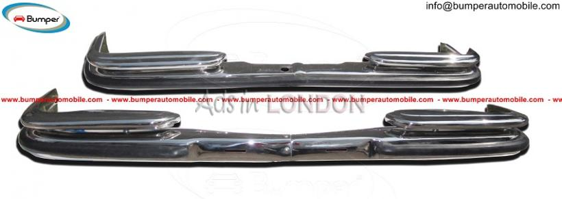 Mercedes w108 bumper kit ( ) stainless steel #1
