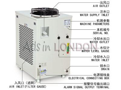 S&A industrial compressor refrigeration chiller CW-6100 factory #1