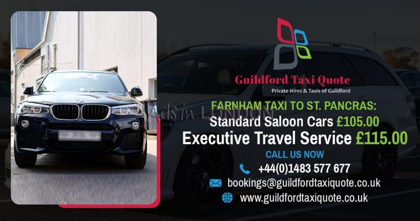 Welcome to Guildford Taxi Quote