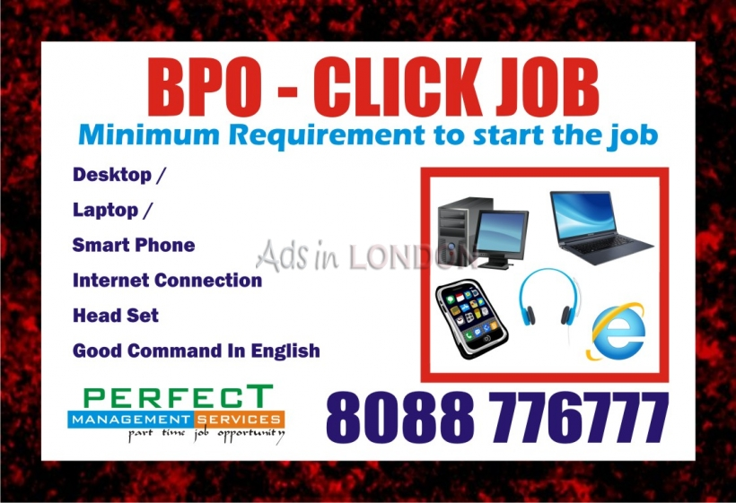 Wanted 100 work at home executive for bpo job mobile job | make daily