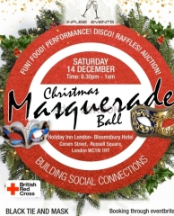 Christmas Masquarede Charity Ball in Aid of the Red Cross