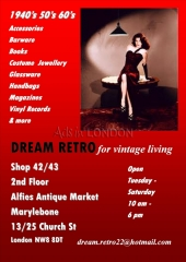 Dream retro vintage  tuesday – saturday