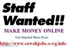 P-T Staff Required, Weekly Pay.