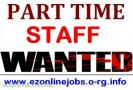 Urgently Full and Part Time Staff Wanted.