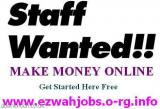 Staff Required - Cash In Hand Job.