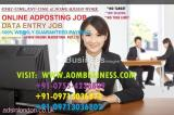 ONLINE ADPOSTING JOB , WORK FROM HOME