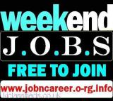 WEEKEND JOBS (Urgently STAFF Required) London