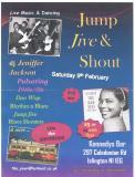[09 Feb 2013 - 10 Feb 2013] Jump Jive and Shout Jive Night with guests The Shot Rods Live