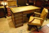 London Edwardian Writing Desks Office Captain Chairs Bargains