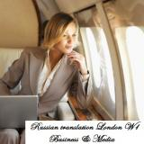 B2B Russian translator London Central London, Mayfair, Westminster