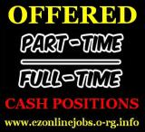 FT & PT Cash Works (Apply Immediately)