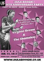 Hula Boogie 1950\'s vintage dance club's 14th Anniversary Party 22 Jan