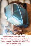 Mobile welding, all steel metal works on your site  East London