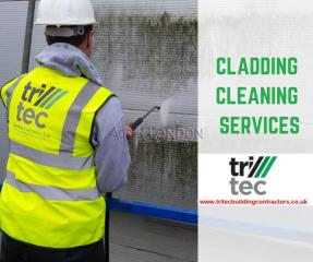 Cladding Cleaning Services - Tritec Building Contractors