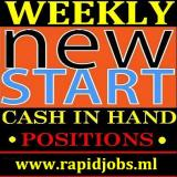 HIGH Paying Cash Positions, Staff Required