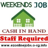 WEEKEND Staff Wanted, Great CASH Pay