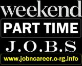 STAFF Needed (Weekend Part Time Jobs)