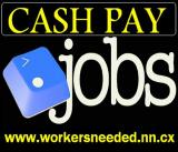 Part Time Jobs, Cash Jobs, Weekend Jobs, Work At Home
