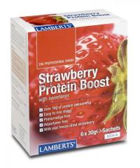Buy Lamberts Strawberry Protein Boost at Best Price in UK