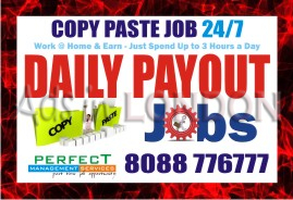Copy paste jobs in banaswadi | online jobs | 987 | data posting jobs