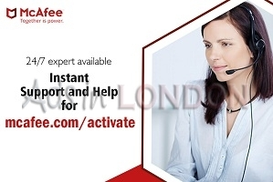 Steps for downloading McAfee antivirus product