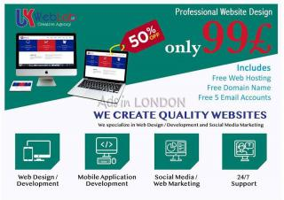 £99 - cheap website design uk | wordpress web design