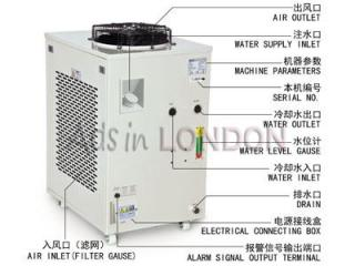 S&A industrial compressor refrigeration chiller CW-6100 factory