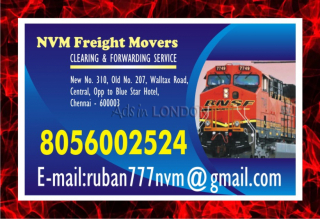 Chennai nvm freight movers | since 1979 | clearing & forwarding servic