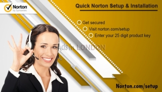How to Install norton setup in your desktop?