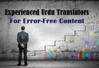 Experienced Urdu Translators for Error-Free Content