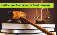 Quality Legal Translation in Tamil Language