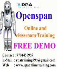 Rpa Openspan Online and Classroom Live Training in Hyderabad