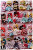 Felt Brooches dolls