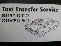 Taxi service from airport to cala d'or