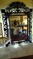 Old mirror beautiful
