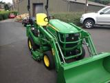 ohn Deere 1026 avec chargeur frontal